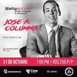 Jose Columna: el fundador de Contrata.com.do nos cuenta su historia