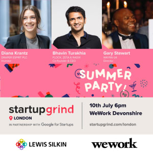 Startup Grind Summer Party with Bhavin Turakhia, Diana Krantz & Gary Stewart