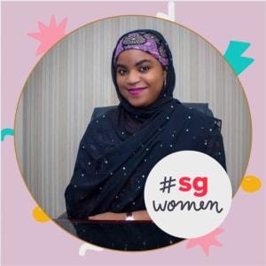 we are hosting Maryam Lawal Gwadabe to celebrate #SGwomen
