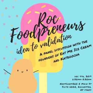 Roc Foodpreneurs: Idea to Validation