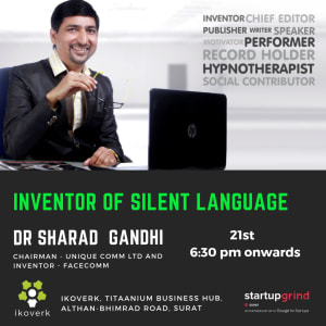 We are hosting Dr. Sharad Gandhi (Inventor of FaceComm)