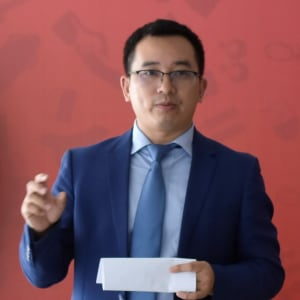 """""""Innovation and Entrepreneurship Journey"""" (Michel Wu, Founder and CEO, PerFee)"""