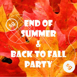 """BACK TO FALL PARTY and STARTUP SHOWCASE """"Summer Party Redux"""""""