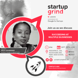 We are hosting Moyo Ogunseinde (Real Estate Developer & Entrepreneur)