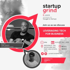 We are hosting Toba Obaniyi (CEO of Whogohost), and Shedy Kay (Urban 98.5 FM)