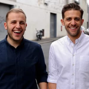Startup Grind hosts Link Anthony and Alex Zaccaria (Linktree)