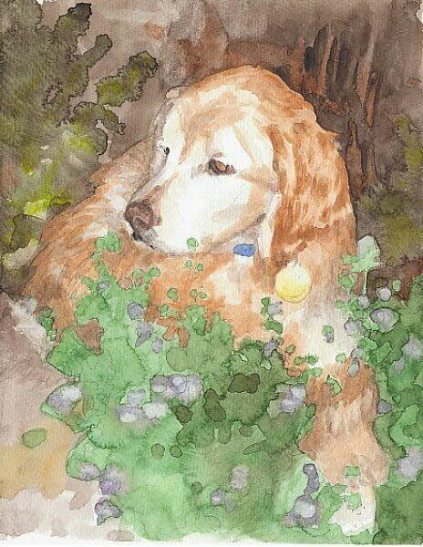 how I critique my watercolor portraits