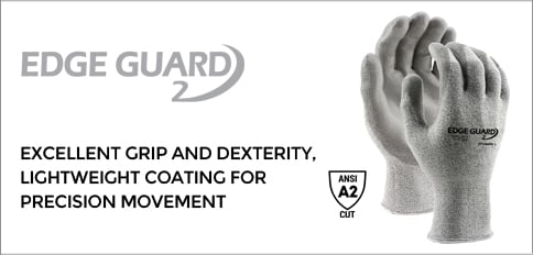 EdgeGuard2 A2 Cut Resistant PU Coated Gloves