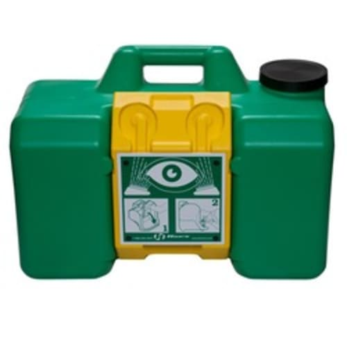 Model 7501, 9 gallon (34.1 L) capacity gravity operated portable eyewash.
