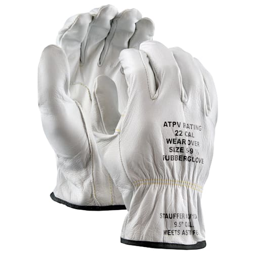 Low Voltage Goatskin Electrical Glove Protectors