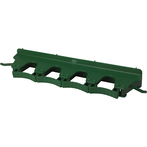 Long Rubber Grip Wall Bracket - Green