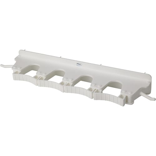 Long Rubber Grip Wall Bracket - White