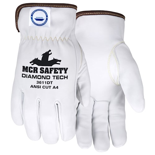 Gloves, Drivers, Goatskin, Cut & Puncture Resistant