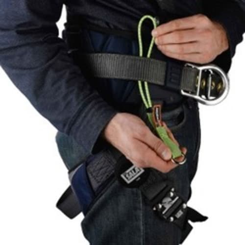 "3703 Standard 11"" Lime Elastic Loop Tool Tails - 15lbs"