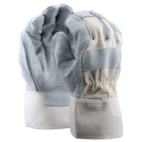 Leather Palm Gloves with Safety Cuff, Kevlar Sewn, Premium Grade