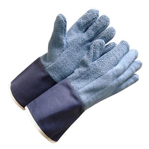 "Terrycloth FR Gloves, Heavy Weight, 6"" Gauntlet Cuff"