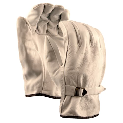 Leather Drivers Gloves with Strap