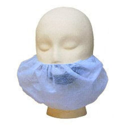 Blue Polypropylene Beard Cover, 18""