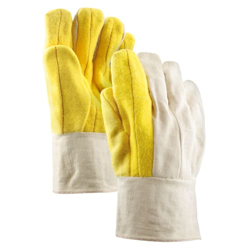 20oz. Cotton Double Palm Chore Gloves with Band Top Cuff