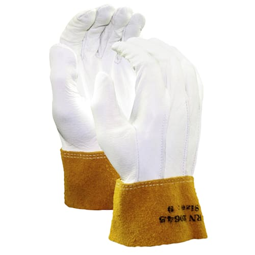Goatskin MIG/TIG Welding Gloves with Leather Cuff
