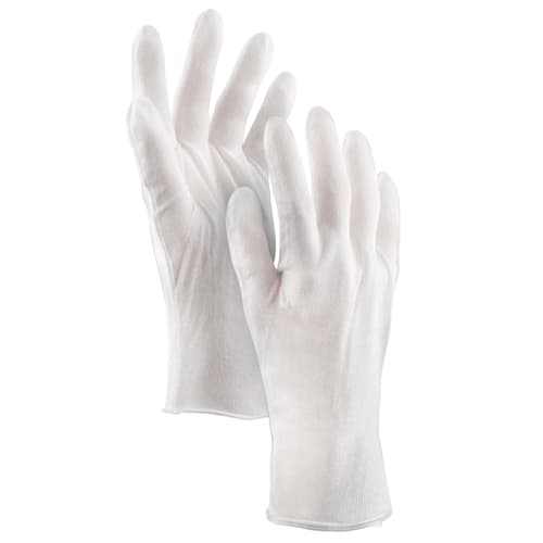 Medium Weight Lisle Gloves, 100% Cotton