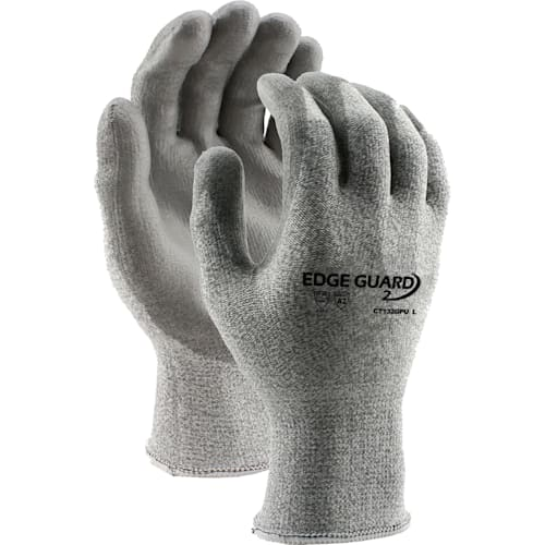 EdgeGuard2™ Cut Resistant Glove with PU Coating, Cut Level A2