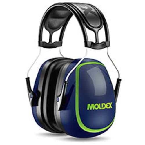 MX-5 Earmuff, NRR 27DB, over the head, cushion ribbed headband, non-slip wire, larger extra soft ear cushions, PVC free, 10 each per case