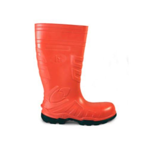 "Polytuff 16"" Polyurethane with Composite Toe, Orange"