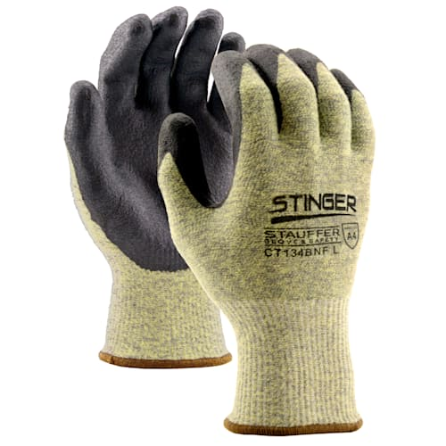 Stinger™ Cut Resistant Glove with Nitrile Foam Coating, Cut Level A4