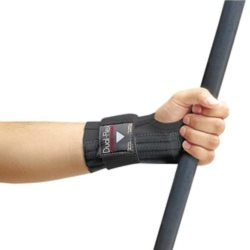 Dual-Flex Wrist Support, Large - Black