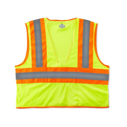 GloWear 8229Z Class 2 Economy Two-Tone Vest