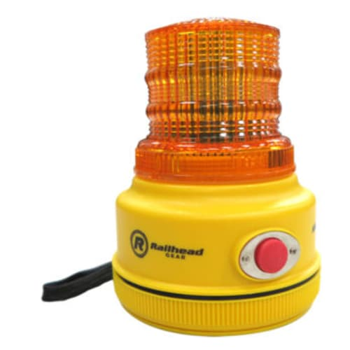 Mid-Size Amber Flash LED Safety Light