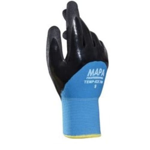 Double Lined Coated Nitril Gloves