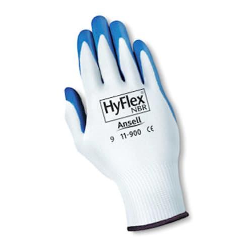 HyFlex Blue Nitrile Gloves