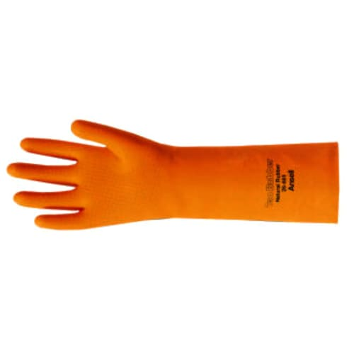 Tan Rubber Gloves