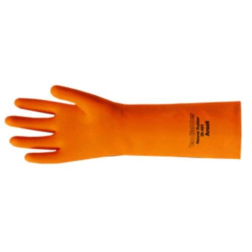 Tan Rubber Gloves