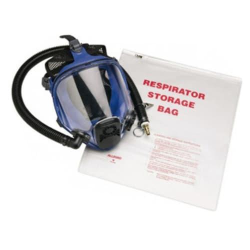 "Respirator Storage Bag with Zipper, 14"" x 16"""