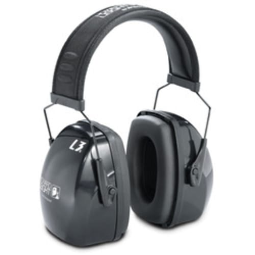 Ear Muff Noise Blocking 30Db Black Headband