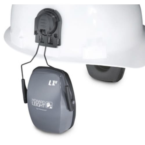 Howard Leightning L1H Noise Blocking Ear Muff, 23 dB, Light Gray