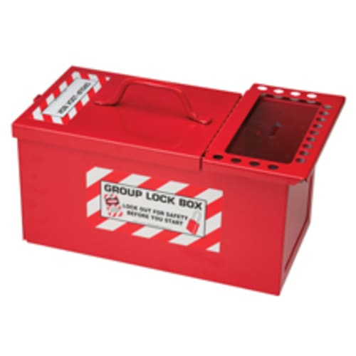 Combined Lock Storage and Group Lock Box