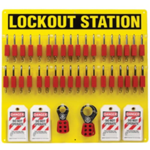 Lockout Stations with Accessories