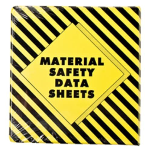 MSDS Binder and User's Guide