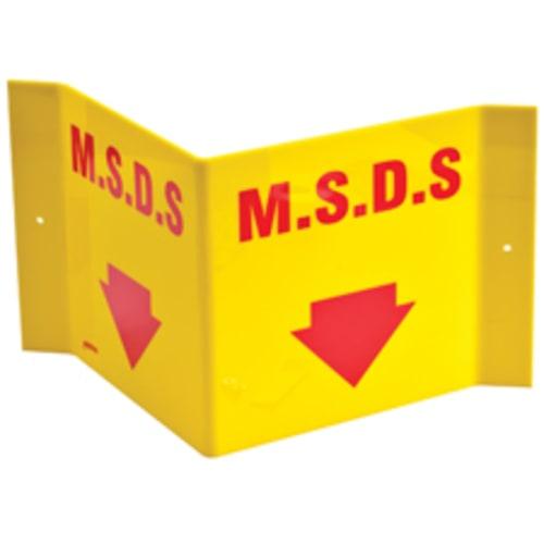 """MSDS """"V"""" Sign"""