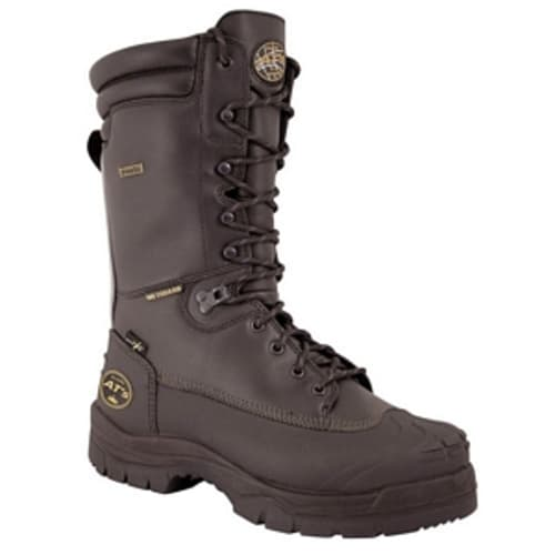 Work Safety Boot, Size 10, Leather