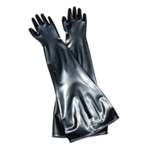 Hand Specific Drybox Gloves, Size 10.5, Butyl, Black