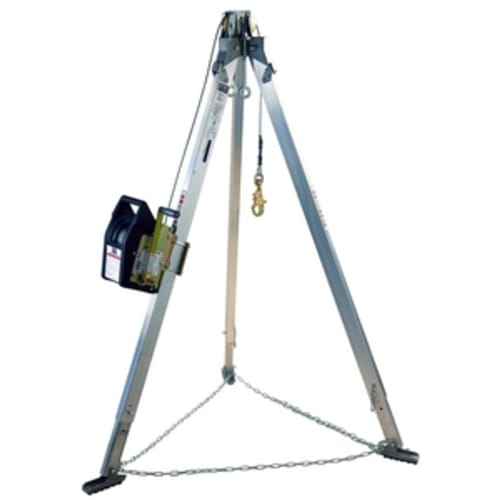 Advanced Aluminum Tripod with Salalift II Winch