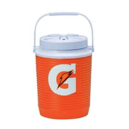 Cooler, Orange, 1 Gal.