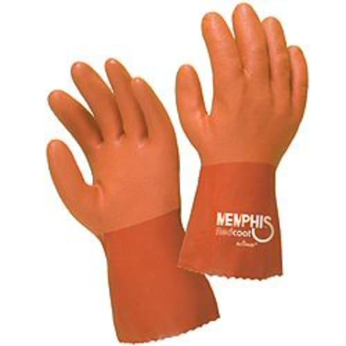 Foam-Lined PVC Gloves