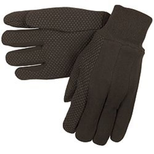 Cotton Jersey Gloves with Dots