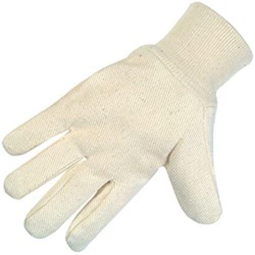 Cotton Canvas Gloves, 8 oz.